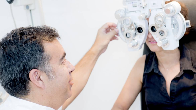 Salud Visual en Óptica La Rosa